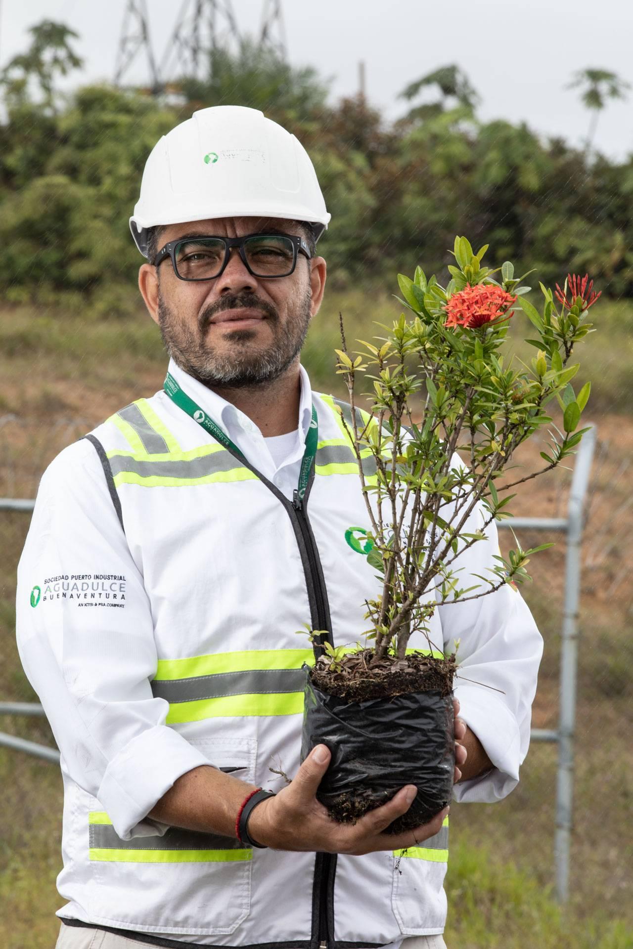 Colaborador de Puerto Aguadulce Área Ambiental